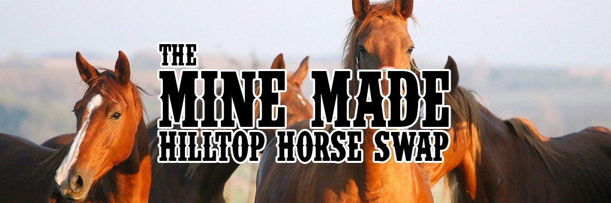 event cover hilltop horse swap - Mine Made Hilltop Horse Swap