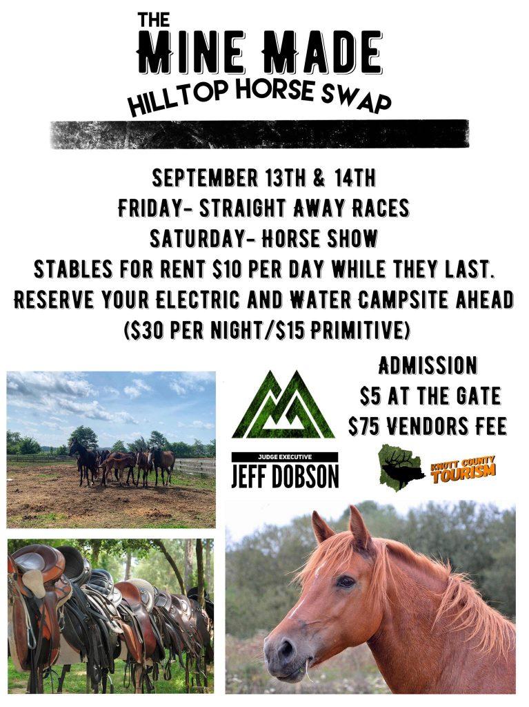 mine made hilltop horse swap 767x1024 - Mine Made Hilltop Horse Swap
